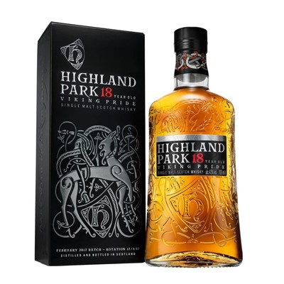 Send Highland Park 18 Year Old Single Malt Whisky Online