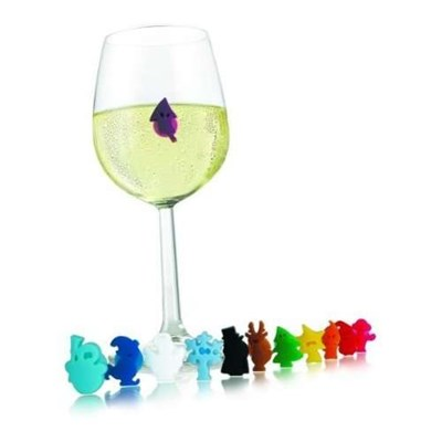 Send Vacu Vin Party People Glass Markers Set of 12 Online