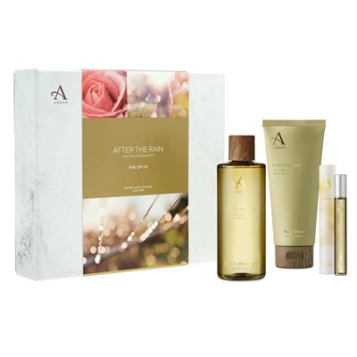 Arran After the Rain Body Care Set - Lime, Rose and Sandalwood