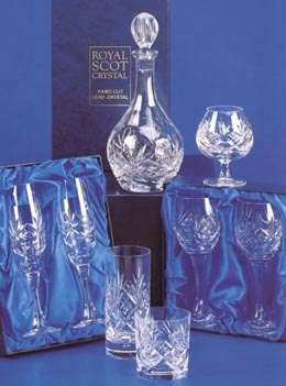Highland Crystal Suite Set by Royal Scot