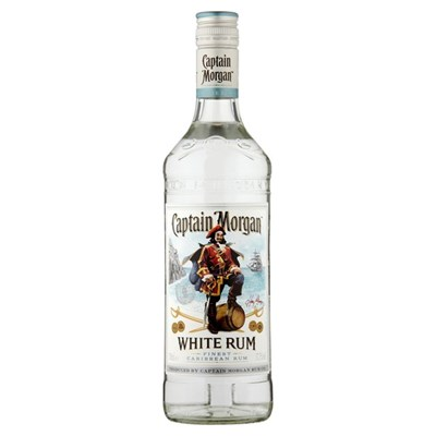 Buy Captin Morgan Finest White Rum 70cl