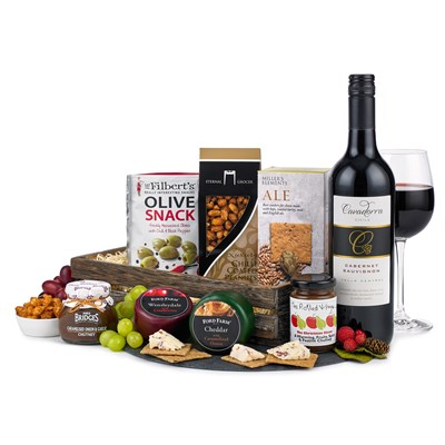 Buy Wine and Cheese Tray With Home Delivery
