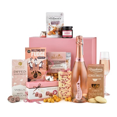 Buy Luxury Rose Prosecco Gift Box Online