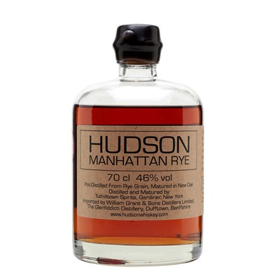 Hudson Manhattan Rye Whisky 70cl
