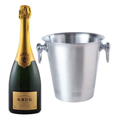 Send Krug Grande Cuvee and Ice Bucket