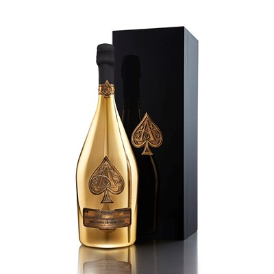 Magnum of Armand de Brignac Brut Gold, in Branded Box