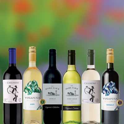 The Essential Selection of 6 Mixed Wines