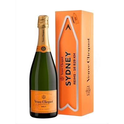 Veuve Clicquot Yellow Label Brut Arrow City Magnet Sydney