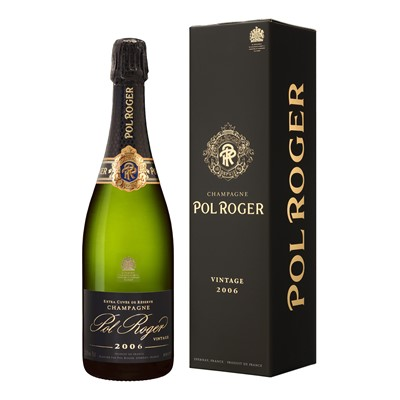 Send Pol Roger Brut Vintage 2012 depending on availability 75cl - Pol Vintage Champagne Gift Online