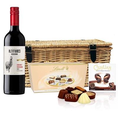 Altitudes Reserva Cabernet Sauvignon And Chocolates Hamper