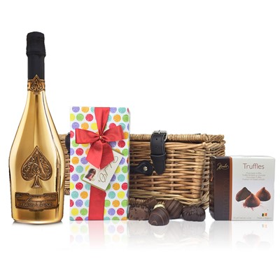 Send Armand de Brignac Gold Chocolates Hamper