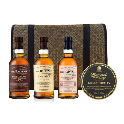 The Balvenie Family Hamper including Whisky Trufles