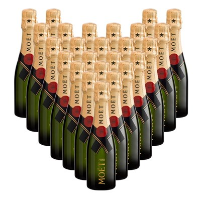 Case of Mini Moet And Chandon But Champagne 20cl (24 x 20cl)