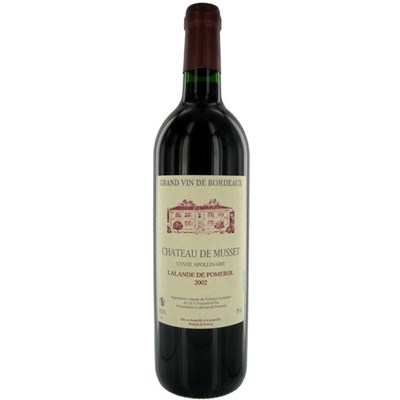 Buy Chateau Musset Bordeaux - Lalande Pomerol Online With Home Delivery