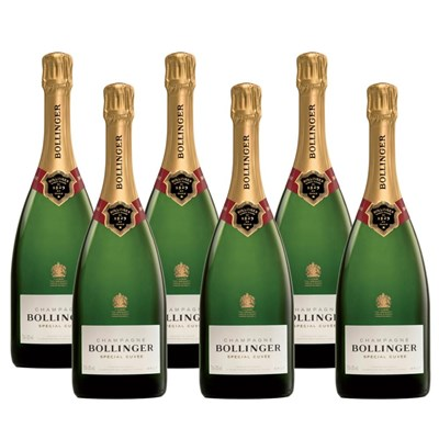 Crate of 6 Bollinger Special Cuvee 75cl