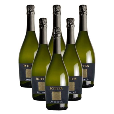 Crate of 6 Botter Prosecco 75cl Prosecco