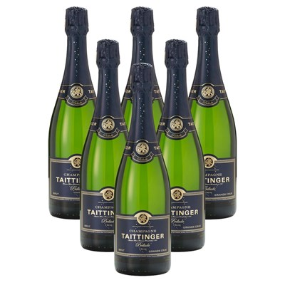 Crate of 6 Taittinger Prelude Grands Crus NV