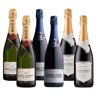 Crate of 6 The Anglo-French Brut Collection