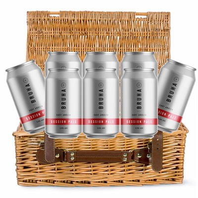 Eight Can Hamper of Bruha Session Pale 330ml (8 x 330ml)