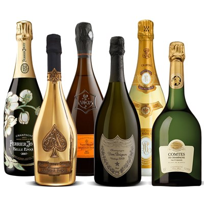 The Champagne Grand  Vintage Collection 6 x 75cl