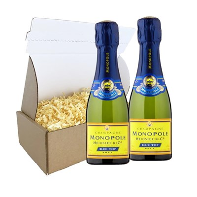 Heidsieck & Co. Monopole Blue Top Brut 20cl Duo Gift Carton