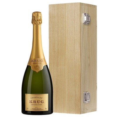 Krug Grande Cuvee Edition 164 NV 75cl - In Krug Gift Box Luxury Gift Boxed Champagne