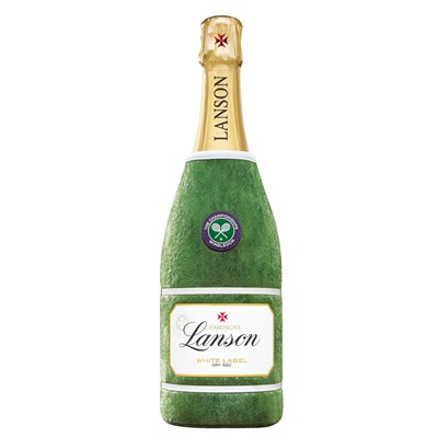 Lanson WHITE Label NV 75cl - Wimbledon Edition Neoprene