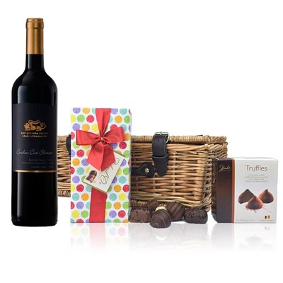 Leone Cordon Cut Shiraz - Australia And Chocolates Hamper