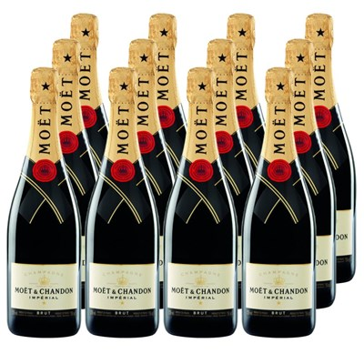 Moet & Chandon Brut Imperial Crate of 12 Champagne