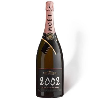 Magnum of Moet and Chandon Vintage Rose 1.5L 2002 - Moet Magnum Champagne Gift