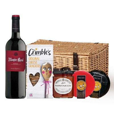 Monte Real Tempranillo And Cheese Hamper