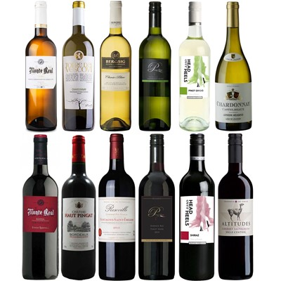 Buy New World Vs Old World Wine Case of 12 Online