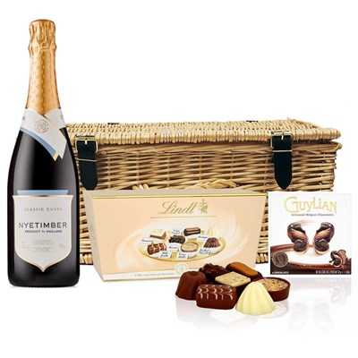 Nyetimber Classic Cuvee 75cl And Chocolates Hamper