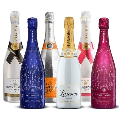 Modern Champagne Collection 6 x 75cl