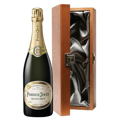Perrier Jouet Brut Champagne 75cl in Luxury Gift Box