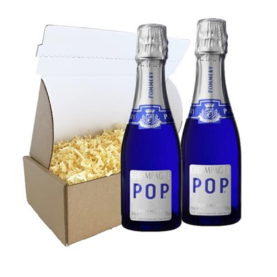 Pommery POP Champagne 20cl Duo Gift Carton
