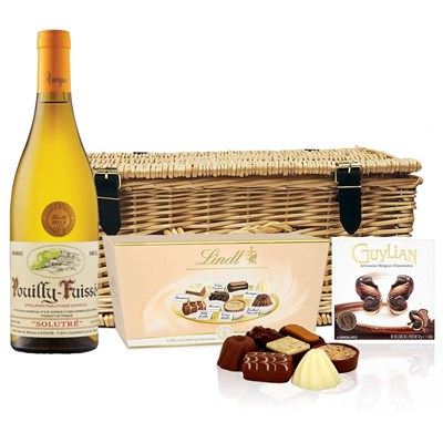 Pouilly Fuisse Auvigue And Chocolates Hamper