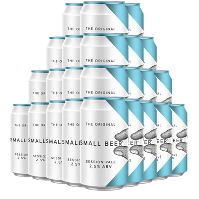 Small Beer Session Pale 330ml Case Of 24 Beers