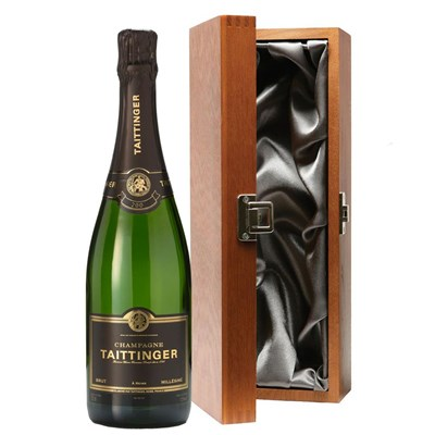 Taittinger Brut Vintage Champagne 2009 75cl in Luxury Gift Box