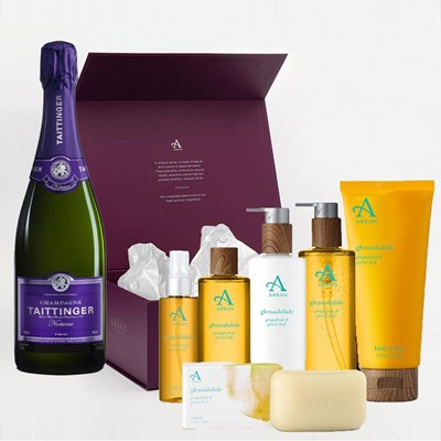 Taittinger Nocturne NV Champagne, 75cl And Glenashdale Aromatherapy Gift Box