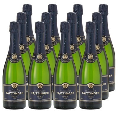 Taittinger Prelude Grands Crus 75cl Crate of 12 Champagne