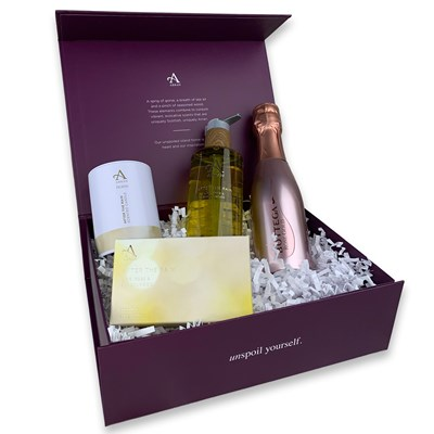 Small After The Rain Gift Set with Bottega Pink Prosecco 20cl