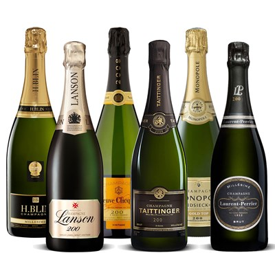 The Champagne Vintage Collection 6 x 75cl