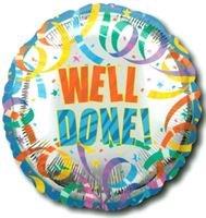 Buy & Send Well Done 18 inch Foil Balloon
