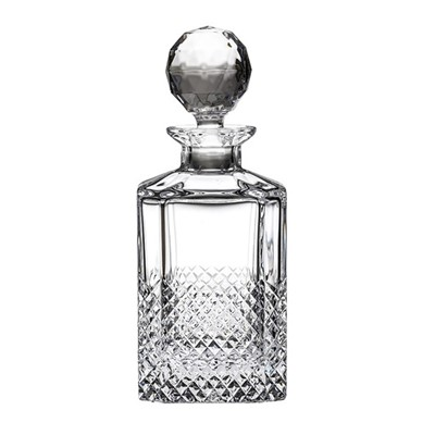 Royal Scot Crystal - Tiara Square Spirit Decanter (Gift Boxed)