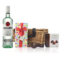 Bacardi Rum and Chocolates Hamper