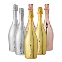 Mixed Case Of Bottega 2 Gold 2 Rose 2 White (6x75cl)
