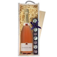 Chassenay d'Arce Rose Champagne & Truffles, Wooden Box