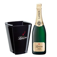 Lanson Gold Label Vintage with Lanson Ice Bucket 2005