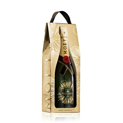 Moet & Chandon Brut Imperial Champagne Celebratory Gift Bag Limited Edition